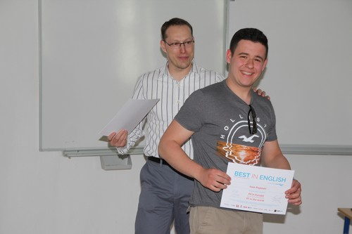 soutěž Best In English 2015/2016