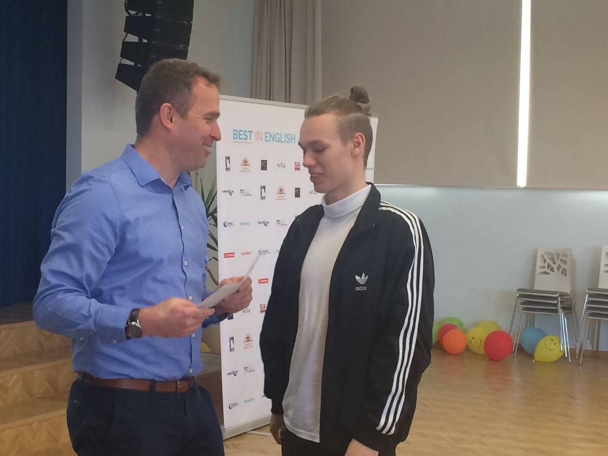 Best in English 2015/2015 - úspěšný student